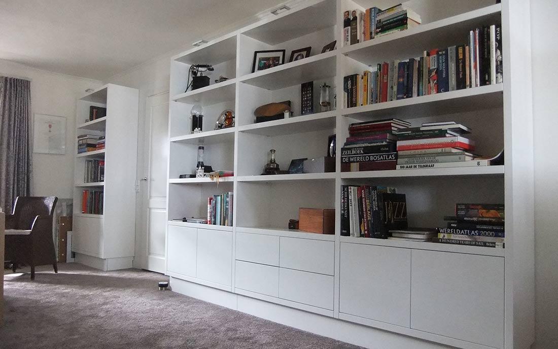 Boekenkast op maat laten maken? | Robin Hoet Interieur